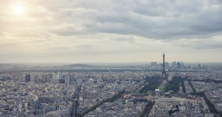 Skyline panorama Paris, France- Stock Photo or Stock Video of rcfotostock | RC-Photo-Stock