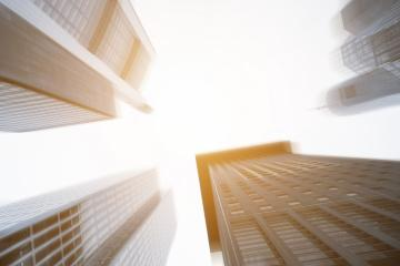 skyscraper business office buildings motion blur- Stock Photo or Stock Video of rcfotostock | RC-Photo-Stock