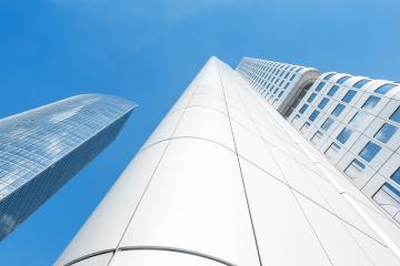 Skyscrapers in Frankfurt, Germany- Stock Photo or Stock Video of rcfotostock | RC-Photo-Stock