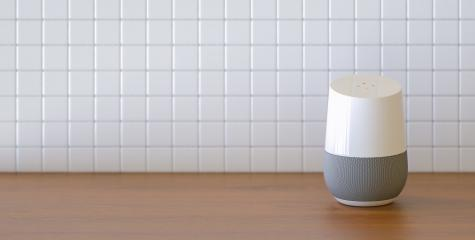 smart speaker in the kitchen with copy space for individual text : Stock Photo or Stock Video Download rcfotostock photos, images and assets rcfotostock | RC-Photo-Stock.: