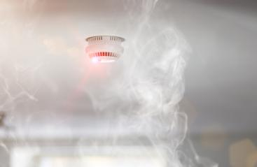 Smoke detector in apartment : Stock Photo or Stock Video Download rcfotostock photos, images and assets rcfotostock | RC-Photo-Stock.: