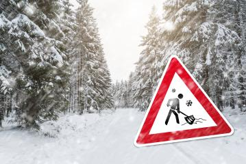 Snow shovels at the winter time- Stock Photo or Stock Video of rcfotostock | RC-Photo-Stock