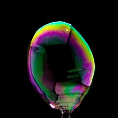 Soap Bubble in colorful colors on black background : Stock Photo or Stock Video Download rcfotostock photos, images and assets rcfotostock | RC-Photo-Stock.: