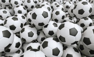 Soccer balls - 3D Rendering : Stock Photo or Stock Video Download rcfotostock photos, images and assets rcfotostock | RC-Photo-Stock.: