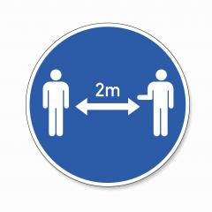 Social Distancing 2 Meter. Coronoavirus safety distance between people sign, mandatory sign or safety sign, on white background. Vector illustration. Eps 10 vector file. : Stock Photo or Stock Video Download rcfotostock photos, images and assets rcfotostock | RC-Photo-Stock.: