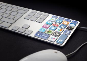 Social Media Keyboard- Stock Photo or Stock Video of rcfotostock | RC-Photo-Stock