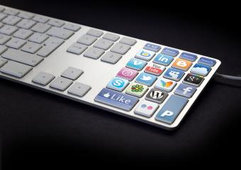 Social Media Keyboard- Stock Photo or Stock Video of rcfotostock | RC-Photo-Stock