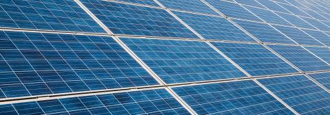 solar panels photovoltaic, alternative electricity source, banner size- Stock Photo or Stock Video of rcfotostock   RC-Photo-Stock