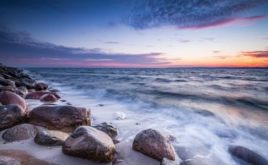 Sonnenaufgang an der Ostsee Küste, Travemünde, Ostsee : Stock Photo or Stock Video Download rcfotostock photos, images and assets rcfotostock | RC-Photo-Stock.: