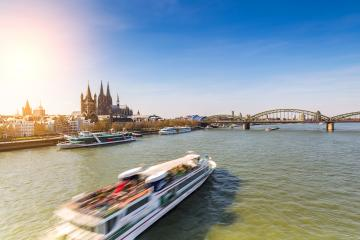 spring at cologne city with Cathedral  : Stock Photo or Stock Video Download rcfotostock photos, images and assets rcfotostock | RC-Photo-Stock.: