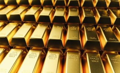 Stacked gold bars in a bank- Stock Photo or Stock Video of rcfotostock | RC-Photo-Stock