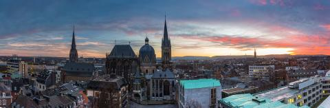 Stadt Aachen Panorama  : Stock Photo or Stock Video Download rcfotostock photos, images and assets rcfotostock | RC-Photo-Stock.: