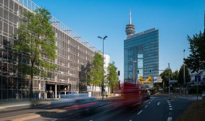 Stadttor into the city tunnel of Dusseldorf - Stock Photo or Stock Video of rcfotostock | RC-Photo-Stock