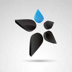 star 3d vector icon as logo formation in black and blue glossy colors, Corporate design. Vector illustration. Eps 10 vector file. : Stock Photo or Stock Video Download rcfotostock photos, images and assets rcfotostock | RC-Photo-Stock.: