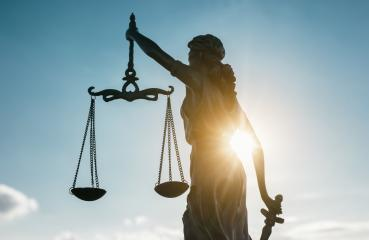 Statue of Justice symbol at sunlight- Stock Photo or Stock Video of rcfotostock | RC-Photo-Stock