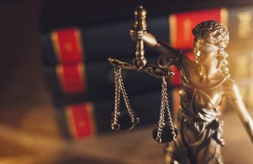 Statue Of Lady Justice in a lawyer office : Stock Photo or Stock Video Download rcfotostock photos, images and assets rcfotostock | RC-Photo-Stock.:
