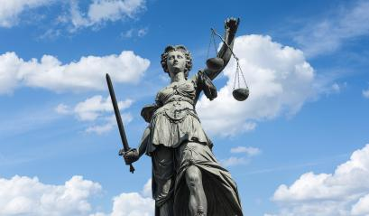 Statue of Lady Justice (Justitia) in Frankfurt, Germany : Stock Photo or Stock Video Download rcfotostock photos, images and assets rcfotostock | RC-Photo-Stock.: