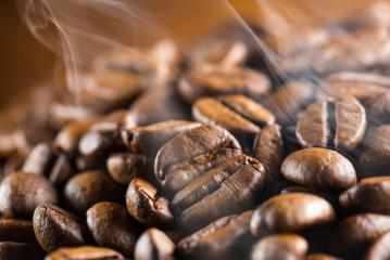 steaming hot coffee beans- Stock Photo or Stock Video of rcfotostock | RC-Photo-Stock