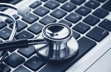 Stethoscope over a laptop keyboard - cybercrime concept image : Stock Photo or Stock Video Download rcfotostock photos, images and assets rcfotostock   RC-Photo-Stock.: