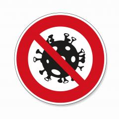 STOP! coronavirus 2019-ncov roadsign. Prohibit Sign, warning Sign Pandemic medical concept for covid-19 sign with dangerous virus cell on transparent background. Vector Eps 10. : Stock Photo or Stock Video Download rcfotostock photos, images and assets rcfotostock | RC-Photo-Stock.: