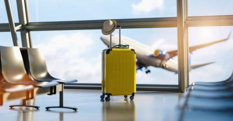 Suitcases at the airport. Travel concept image- Stock Photo or Stock Video of rcfotostock | RC-Photo-Stock