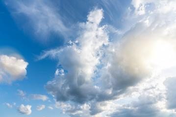 Sun beams or light rays breaking through the clouds : Stock Photo or Stock Video Download rcfotostock photos, images and assets rcfotostock | RC-Photo-Stock.: