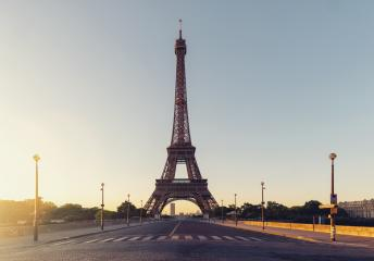 Sunrise at the Eiffel tower, Paris. France- Stock Photo or Stock Video of rcfotostock | RC-Photo-Stock