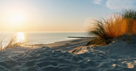 Sunset at the dune beach - Stock Photo or Stock Video of rcfotostock | RC-Photo-Stock
