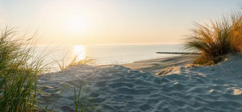 Sunset at the dune beach : Stock Photo or Stock Video Download rcfotostock photos, images and assets rcfotostock | RC-Photo-Stock.: