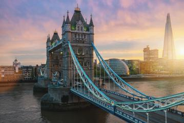 Sunset at the Tower Bridge in London, the UK- Stock Photo or Stock Video of rcfotostock | RC-Photo-Stock