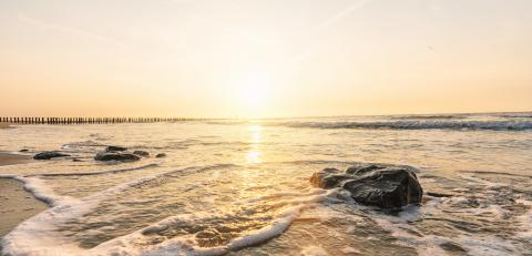 Sunset on the beach- Stock Photo or Stock Video of rcfotostock | RC-Photo-Stock