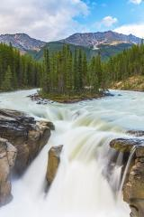 Sunwapta waterfalls in the Jasper national park canada : Stock Photo or Stock Video Download rcfotostock photos, images and assets rcfotostock | RC-Photo-Stock.: