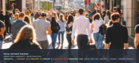 surveillance tracking crowd of people to protect their health and social behavior. Big data monitoring motion profile concept. : Stock Photo or Stock Video Download rcfotostock photos, images and assets rcfotostock | RC-Photo-Stock.: