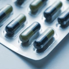 Tablets pills flu in a Blister packaging antibiotic pharmacy medicine medical- Stock Photo or Stock Video of rcfotostock | RC-Photo-Stock