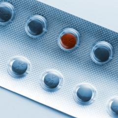 Tablets pills in a Blister packaging red pill pharmacy medicine medical - Stock Photo or Stock Video of rcfotostock | RC-Photo-Stock