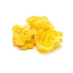 tagliatelle nests isolated on white- Stock Photo or Stock Video of rcfotostock | RC-Photo-Stock