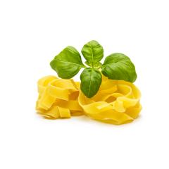 tagliatelle nests with basil- Stock Photo or Stock Video of rcfotostock   RC-Photo-Stock