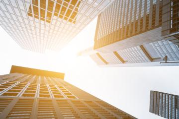 Tall skyscrapers shot with perspective : Stock Photo or Stock Video Download rcfotostock photos, images and assets rcfotostock | RC-Photo-Stock.: