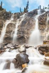 Tangle Creek Falls at jasper national park Canada  : Stock Photo or Stock Video Download rcfotostock photos, images and assets rcfotostock | RC-Photo-Stock.: