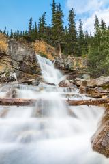Tangle Creek Waterfall in sumer at the jasper national park  : Stock Photo or Stock Video Download rcfotostock photos, images and assets rcfotostock | RC-Photo-Stock.:
