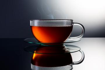 teacup with hot tea and steam- Stock Photo or Stock Video of rcfotostock | RC-Photo-Stock