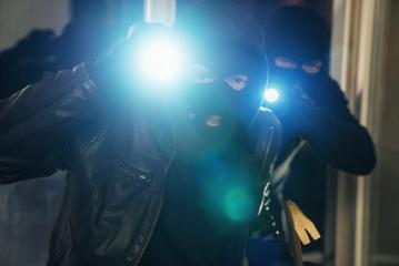 Team of criminal Burglar breaking and entering a victim's house at night : Stock Photo or Stock Video Download rcfotostock photos, images and assets rcfotostock | RC-Photo-Stock.: