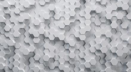 Technical 3D white hexagonal background structure- Stock Photo or Stock Video of rcfotostock | RC-Photo-Stock