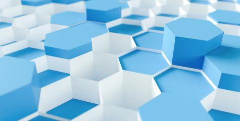 technology hexagon pattern background - 3d rendering - Illustration - Stock Photo or Stock Video of rcfotostock | RC-Photo-Stock