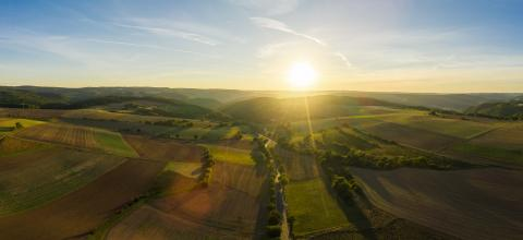 the Eifel National Park - aerial drone shot- Stock Photo or Stock Video of rcfotostock | RC-Photo-Stock