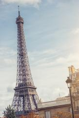 The Eiffel tower at sunrise in Paris France- Stock Photo or Stock Video of rcfotostock | RC-Photo-Stock