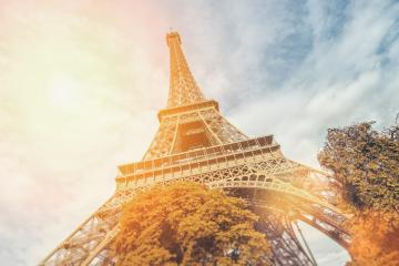 The Eiffel Tower in Paris, at autumn- Stock Photo or Stock Video of rcfotostock | RC-Photo-Stock