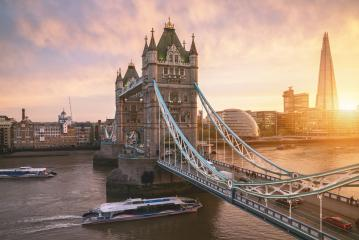 The london Tower bridge at sunrise : Stock Photo or Stock Video Download rcfotostock photos, images and assets rcfotostock | RC-Photo-Stock.: