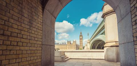The Palace of Westminster and Big Ben framed by Westminster bridge, London, UK- Stock Photo or Stock Video of rcfotostock | RC-Photo-Stock