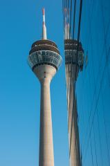 the rhinetower in Dusseldorf : Stock Photo or Stock Video Download rcfotostock photos, images and assets rcfotostock | RC-Photo-Stock.: